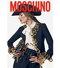 Alessandra Ambrosio Moschino kampanyası
