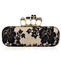 Alexander McQueen mücevherli çantası