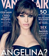 Angelina Jolie Vanity Fair kapağında