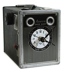 Antika Kamera Kutusu Masa Saati