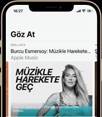 Apple Music'te Müzikle Harekete Geç!