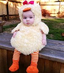 Bebekler İçin Halloween Kostümleri