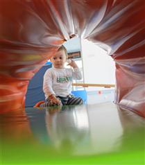 Bebekler KidzOne'da Doyasıya Eğleniyor