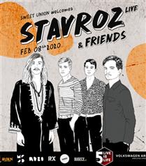 Belçikalı Ekip Stavroz 8 Şubat Gecesi Volkswagen Arena Sahnesinde!