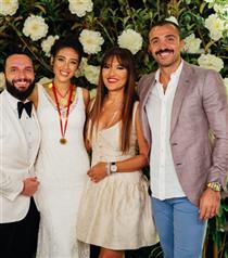 Berkay ve Özlem Ada Şahin'in Bodrum'daki Düğünü