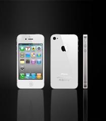 Beyaz iPhone 4 yolda