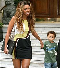 Beyonce annelik stajında
