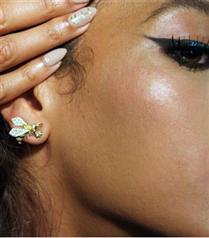 Beyoncé`nin arı figürlü takıları