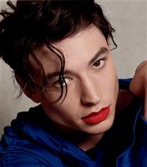 Bir Makyaj Kampanyası Yıldızı Olarak Ezra Miller