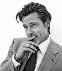 Brad Pitt'ten Brioni Sonbahar 2020 Kampanyası İçin Etkileyici Kareler