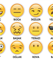 Burçlar Emoji Olursa