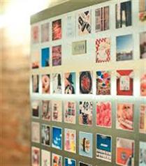 Buzdolabınızda Instagram magnetleri