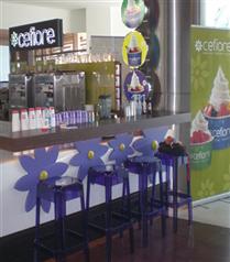 Cefiore Frozen Yogurt Palladium Alışveriş Merkezi`nde