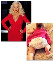 Christina Aguilera kızının ilk fotoğrafını paylaştı