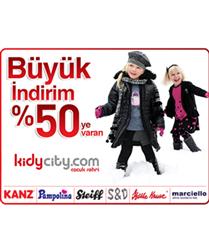 Çocuk modası için kidycity.com