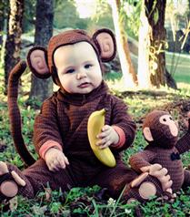 Çocuklardan ilginç kostümler