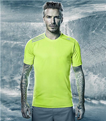 David Beckham Adidas Climachill`in yüzü oldu