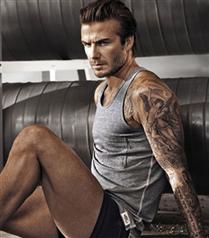 David Beckham H&M Uncovered reklamı