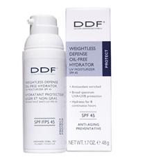 DDF Weightless Defense Oil-Free Hydrator UV Moisturizer SPF 45