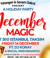 December Magic Party İle Eğlenceseverler Buluşuyor
