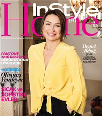 Demet Akbağ`ın Evi InStyle Home Ocak Sayısında