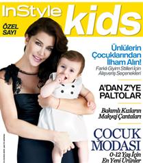 Deniz Akkaya InStyle Kids dergisinde