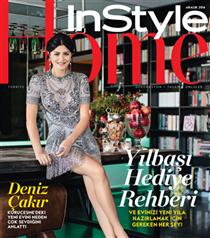 Deniz Çakır'ın Evi InStyle Home Aralık Sayısında