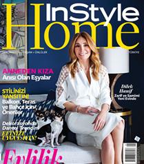 Dilek Hanif`in evi InStyle Home`da