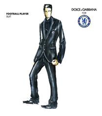 Dolce&Gabbana futbolcuları giydiriyor