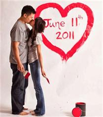 Düğünlerin yeni modası 'Save the Date` kartları