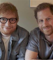 Ed Sheeran ve Prens Harry'den Farkındalık Yaratan Ortak Proje