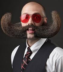 En iddialı sakal ve bıyıklar