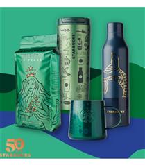 Eşsiz Kahve Deneyimi 50 Yaşında: Starbucks'tan Yeni Yaşına Özel Ürünler