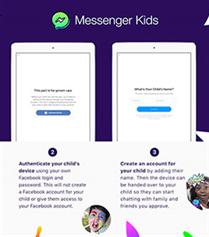 Facebook'dan Çocuklara Messenger Kids