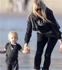 Fergie ve oğlu Axl