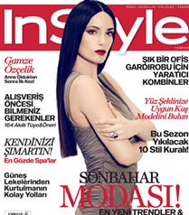 Gamze Özçelik  InStyle Dergisi`nde...