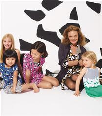 Gap Kids`e Diana Von Furstenberg imzası