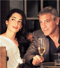 George Clooney`nin sevgilisi Amal Alamuddin`in nişan yüzüğü