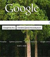 Google arka plan resmi değiştirme