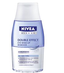 Göz makyajını temizlemek için Nivea Visage çift etki