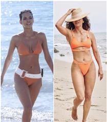 Halle Berry 18 Yıl Sonra Turucu Bikinisiyle Tekrar Objektif Karşısında