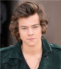 Harry Styles`ın saç stili
