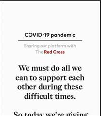 H&M COVID-19 Sürecinde Sağlık ve Güvenlik Mesajlarını Sosyal Medyada Yayacak