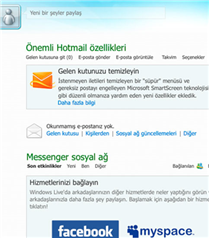 Hotmail yenilendi!