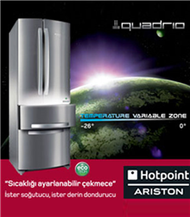 Hotpoint-Ariston Quadrio`yu Keşfedin
