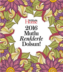 InStyle Home Aralık Sayısında Renk Terapisi Hediye