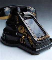 iPhone`unuz için iRetrophone Steampunk