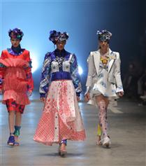 İstanbul Moda Akademisi'nden Dev Moda Şovu