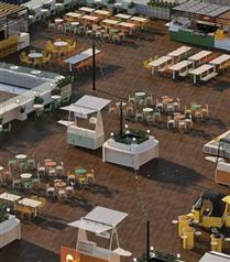 İstanbulluların Yeni Açık Hava Sosyalleşme Merkezi dekk Eylül Sonunda Açılıyor
