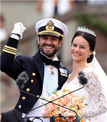 İsveç Prensi Carl Philip ile Sofia Hellqvist evlendi